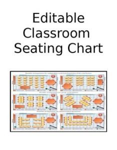 Updated electronic editable classroom seating chart also by reading rhapsody rh teacherspayteachers