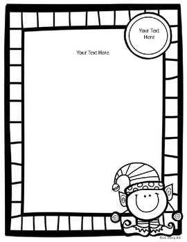 Editable Elf Class Christmas/Holiday Party Letter with