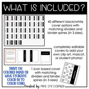 Editable Middle and High School Color Coded Student IEP