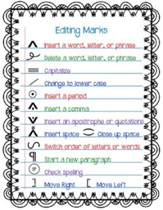Editing marks freebie also free writing expository posters resources  lesson plans teachers rh teacherspayteachers