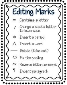 Editing marks for primary also by mrs fun teachers pay rh teacherspayteachers