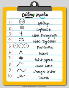 Editing and proofreading marks poster worksheets more also teaching resources teachers pay rh teacherspayteachers