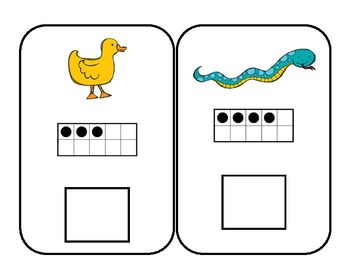 Oviparous- Eggs Animals That Hatch Math Centers by abby