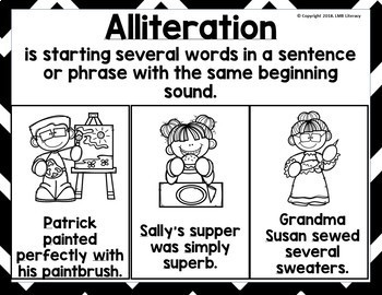 Figurative Language Posters, Classroom Posters or Word