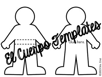 Spanish Interactive Notebook Activity: El Cuerpo by Sra