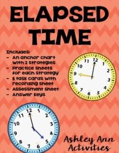 also elapsed time bundle by ashley ann activities teachers pay rh teacherspayteachers