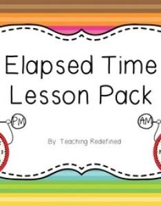 also elapsed time lesson pack by teaching redefined tpt rh teacherspayteachers