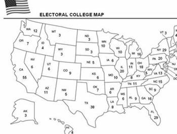 Electoral College 2016 (Lesson Plan, Reader, Worksheet and