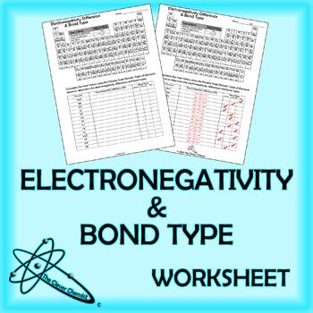 Electronegativity Worksheet & 1 Pages Electronegativity Worksheet C ...