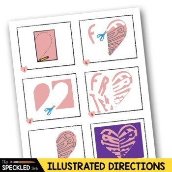 Elementary Art Lesson Plan. Notan Conversation Hearts