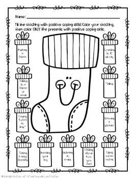 Fill Your Stocking With Positive Coping Skills Flipbook