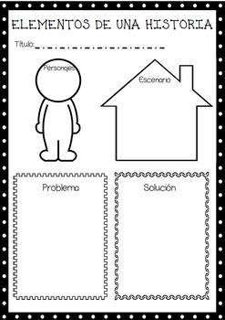 Elementos de un cuento o historia by Lolas  Teachers Pay