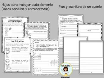 Elementos del cuento by Educaclipart  Teachers Pay Teachers