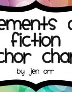 also elements of fiction anchor charts by jen orr teachers pay rh teacherspayteachers