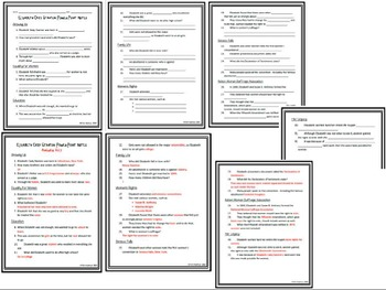 Elizabeth Cady Stanton PowerPoint and Notes Set by Jersey