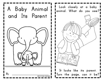 Emergent Reader {Baby Animals Look Like Their Parent