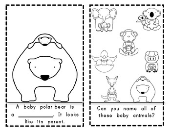 Emergent Reader {Baby Animals Look Like Their Parent