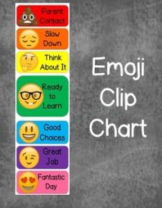 also emoji behavior clip chart by fun times in elementary tpt rh teacherspayteachers