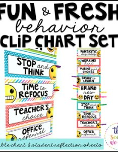 Original  also emoji classroom decor behavior clip chart and reflection sheets rh teacherspayteachers