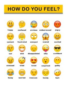 Emoji feelings chart also teaching resources teachers pay rh teacherspayteachers