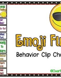 also emoji fun behavior clip chart by over the moonbow tpt rh teacherspayteachers