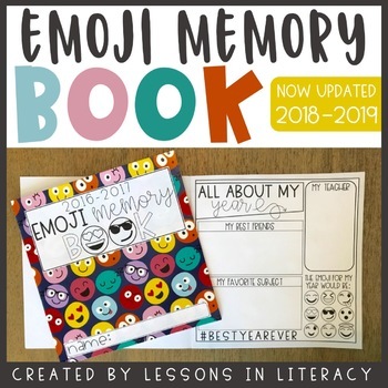 emoji memory book by