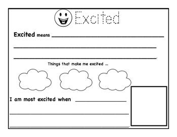 Emotions Worksheet Package By Danielle Elysse