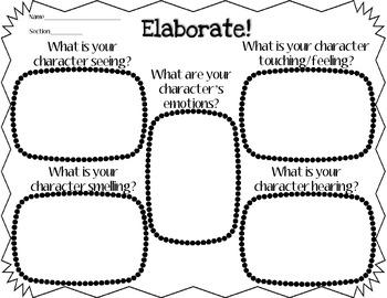 Empowering Writers Adding Elaborative Details Graphic