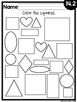 EnVision Kindergarten Topic 14 by Kindergarten Kind of Gal