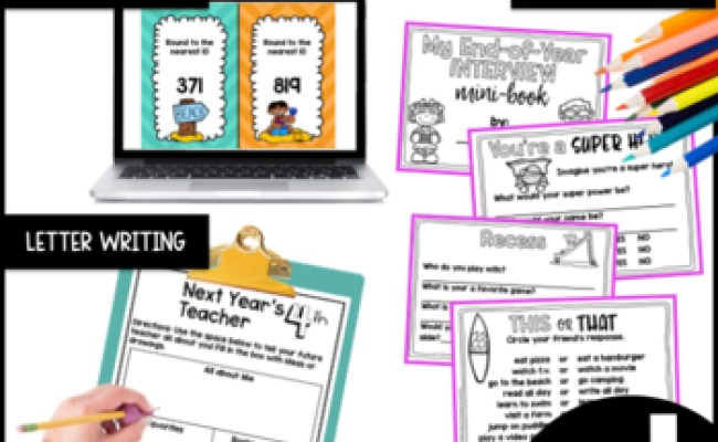 End Of Year Giant Bundle 3rd Grade By A Grace Filled
