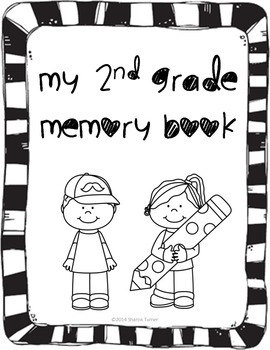 End of the Year Activity Book: My 2nd Grade Memory Book by