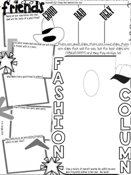 End of the Year Activity: Memory Book Newspaper by Kate's