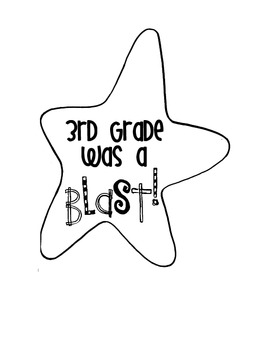 End of the Year Craftivity {First Grade Was A BLAST!} by