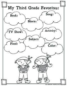 Third Grade Memory Book: Pirate Theme by The Classroom