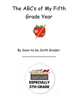 End of the Year Memory Book for Fifth Graders by Christina