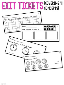 End of the Year & Summer Math Review {A Versatile Review
