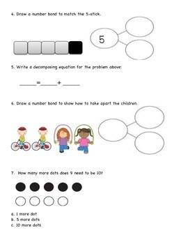 Engage NY/Eureka Kindergarten Module 4 End of Module Test