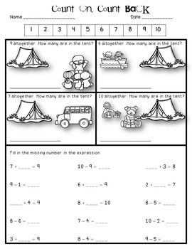 Engage NY {Eureka} Math 1st Grade Module 1 Topic G Lessons