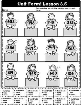 Engage NY {Eureka} Math Module 3 Topic C Lessons 4-7 2ND