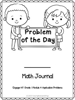 EngageNY Math Journal Grade 1 Module 4 by Growing Roots