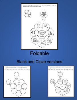 Engineering Design Process Foldable by Mariana Garcia