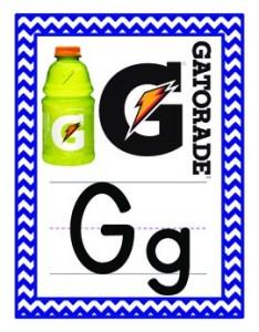 Environmental print alphabet freebie also by missy gibbs tpt rh teacherspayteachers