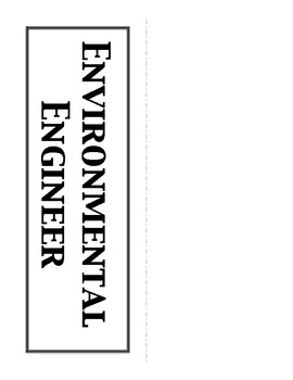 Environmental Science Careers Bulletin Board, Word Wall