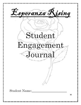 Esperanza Rising Novel Unit Student Activities by Room 4