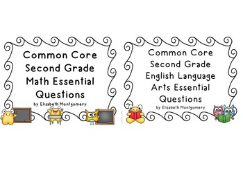 Essential Questions 2nd Gr Common Core Language Arts and