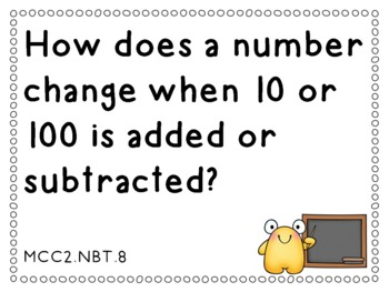 Essential Questions Second Grade Common Core Math by