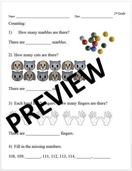 2nd Grade Common Core Math Intervention Diagnostic