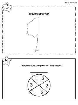 Everyday Math: First Grade Math Box Reviews (Units 8, 9