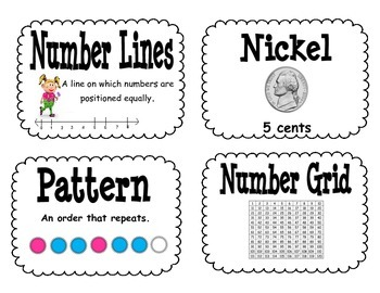 Everyday Math Second Grade Unit 1 Resource Pack by The