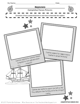 Explorers Unit Resources and Activities- 53 pages by Mrs